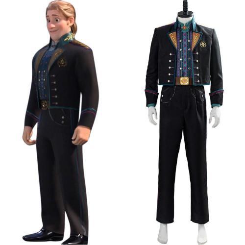 Frozen 2 Uniform Die Eiskönigin 2 Cosplay Kristoff Kostüm Hochzeit Outfit Krönung
