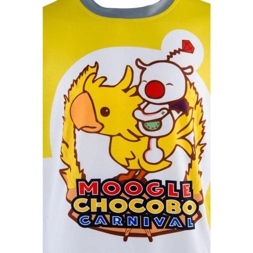 Final Fantasy 15 FF15 Noctis Carnival Moogle Chocobo T Shirt Cosplay Kostüm