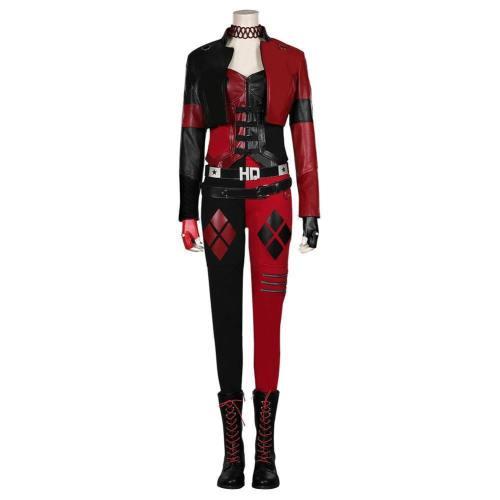 Suicide Squad 2 (2021)- Dr Harleen Quinzel/Harley Quinn Cosplay Kostüm Halloween Karneval Kostüm