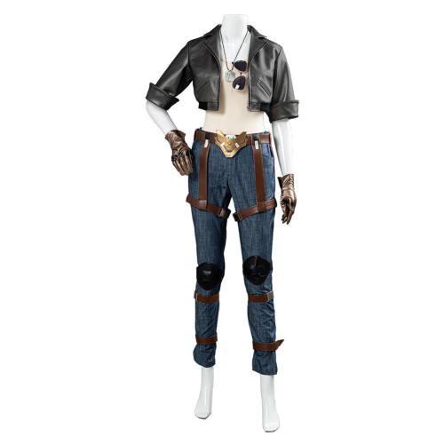 Overwatch OW Pharah Fareeha Amari Skin Cosply Kostüm Halloween Karneval Kostüm