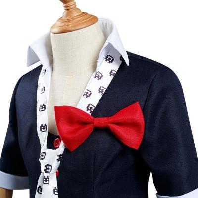 Kinder Danganronpa Junko Enoshima Cosplay Kostüm Uniform für Mädchen