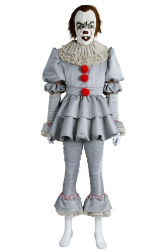 IT Pennywise Kostüm The Clown Outfit Cosplay Kostüm Horror Film Halloween Kostüme
