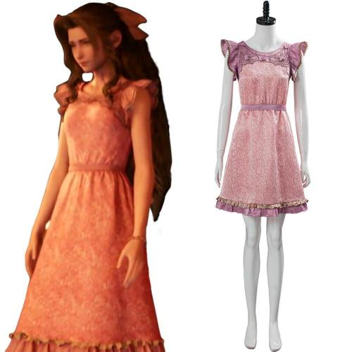 Das Honey Bee Inn Aerith Wall Market Final Fantasy VII:7 Remake Aerith Wall Market Cosplay Kostüm