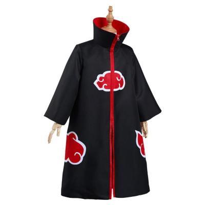 Naruto Akatsuki Kinder Umhang Kostüm Halloween Karneval Suit Stehkragen