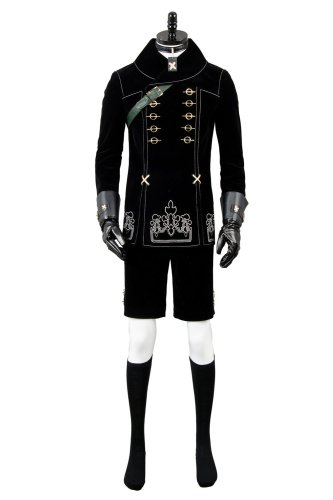 NieR: Automata 9S YoRHa No. 9 Type S Scanner Cosplay Kostüm Uniform