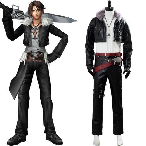 Final Fantasy VIII Remastered Squall Leonhart Kostüm Cosplay Kostüm