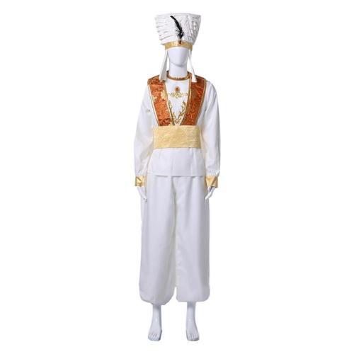 Aladdin Prinz Ali Cosplay Kostüm Erwachsene 2 Farbe