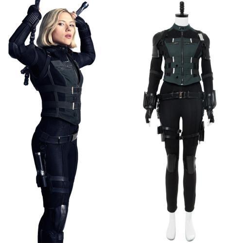 Avengers3 : Infinity War Natasha Romanoff alias Black Widow Cosplay Kostüm