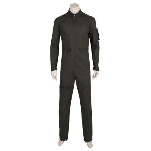Top Gun 2 Tom Cruise Lt. Pete Maverick Mitchell Pilot Arbeitsanzug Overall Cosplay Kostüm Jumpsuit