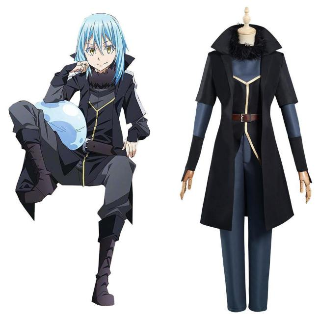 That Time I Got Reincarnated as a Slime 2 Rimuru TEMPEST Kostüm Cosplay Kostüm Set