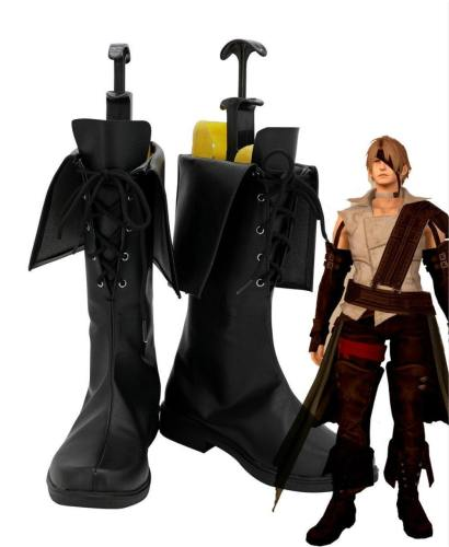 Final Fantasy XIV FF14 Thancred Waters Stiefel Cosplay Schuhe
