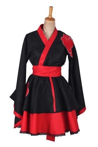 Akatsuki Narotu Akatsuki Dämmerung Cosplay Kostüm Frau Version