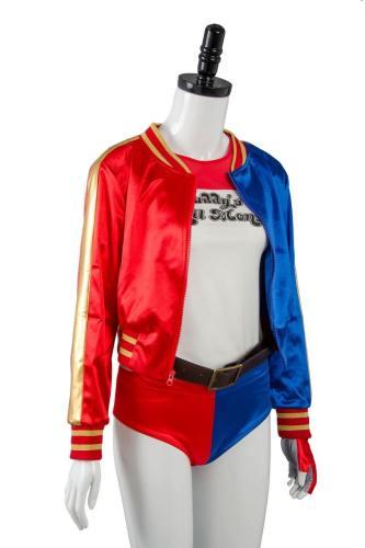DC Comics Suicide Squad Harley Quinn Cosplay Kostüm nur Jacke