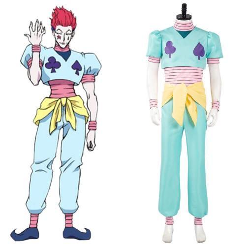 Hunter x Hunter Hisoka Cosplay Kostüm Outfits Halloween Karneval Kostüm