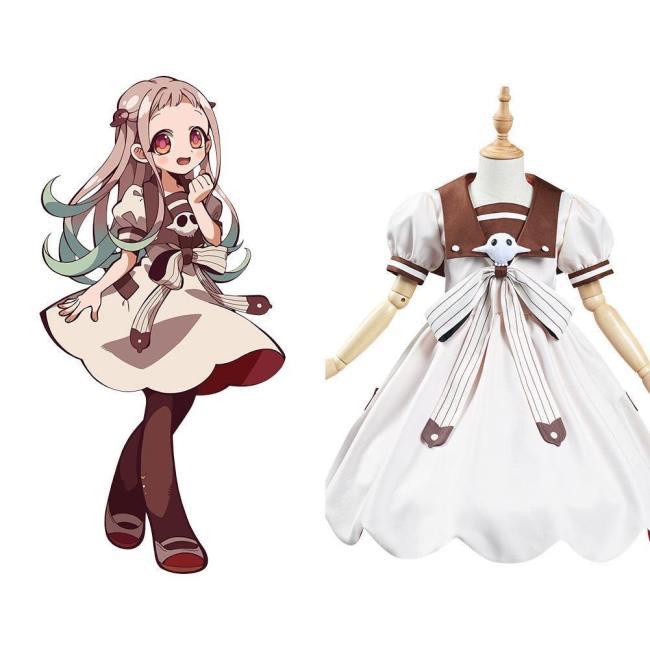 Jibaku Shoulen Toilet Bound Hanako-kun Nene Yashiro/Aoi Akane Cosplay Kostüm Kinder Mädchen Halloween Karneval Kostüm