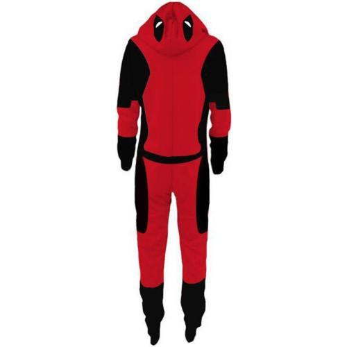 Marvel Comics Manga Deadpool Schlafanzug Pyjamas Cosplay Pullover Baumwolle