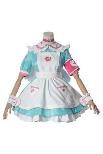 The Idolmaster Cinderella Girls Yumemi Riamu Kleid Cosplay Kostüm Version B