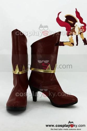 RWBY Pyrrha Nikos Cosplay Stiefel Schuhe