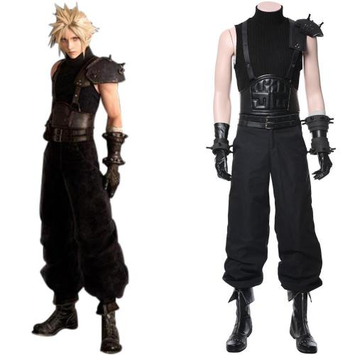 FF7 Final Fantasy VII: Cloud Strife Remake Cosplay Kostüm NEU