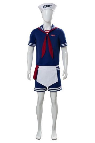 Steve Harrington Stranger Things 3 Scoops Ahoy Uniform Cosplay Kostüm NEU