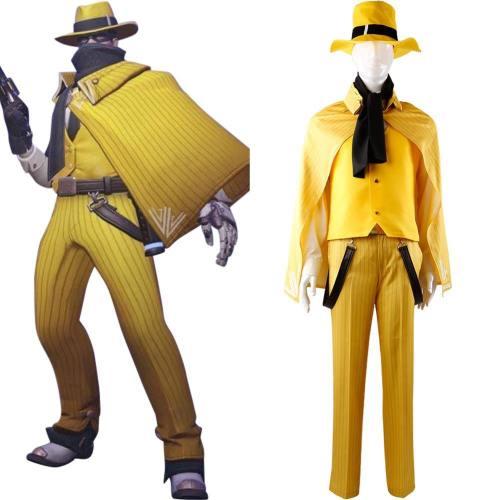 Overwatch Helden Jesse·Mccree Vigilante skin Uniform Cosplay Kostüm