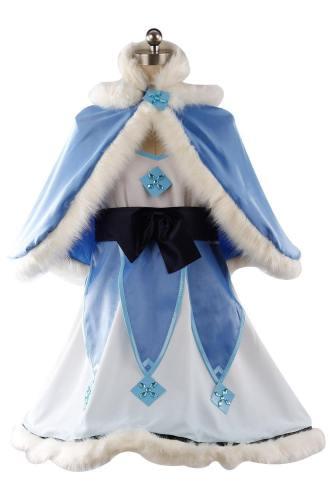 Overwatch OW Mei Mei-Ling Zhou Kleid Cosplay Kostüm