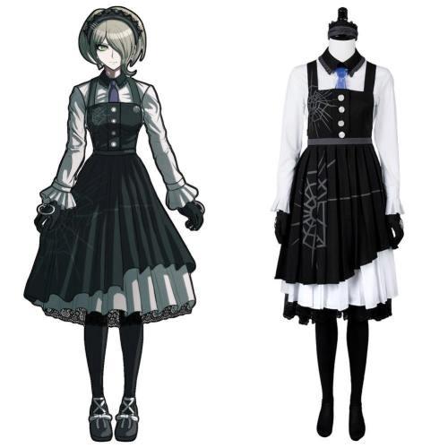 Danganronpa 3 Killing Harmony Kirumi Tojo Maid Kleid Cosplay Kostüm