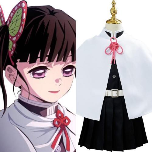 Kanao Tsuyuri Kostüm Demon Slayer Tsuyuri Cosplay für Kinder
