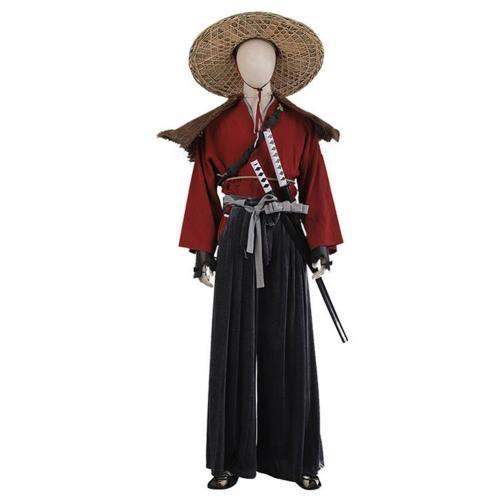 Ghost of Tsushima Jin Sakai The Ghost Cosplay Kostüm Halloween Karneval Kostüm
