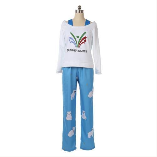 Overwatch OW Mei Mei-Ling Zhou Pajama Cosplay Kostüm Pyjamas Schlafanzug auch für Alltag