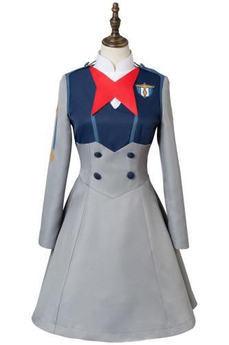 DitF Darling in the Franxx Code 015 Ichigo Uniform Cosplay Kostüm