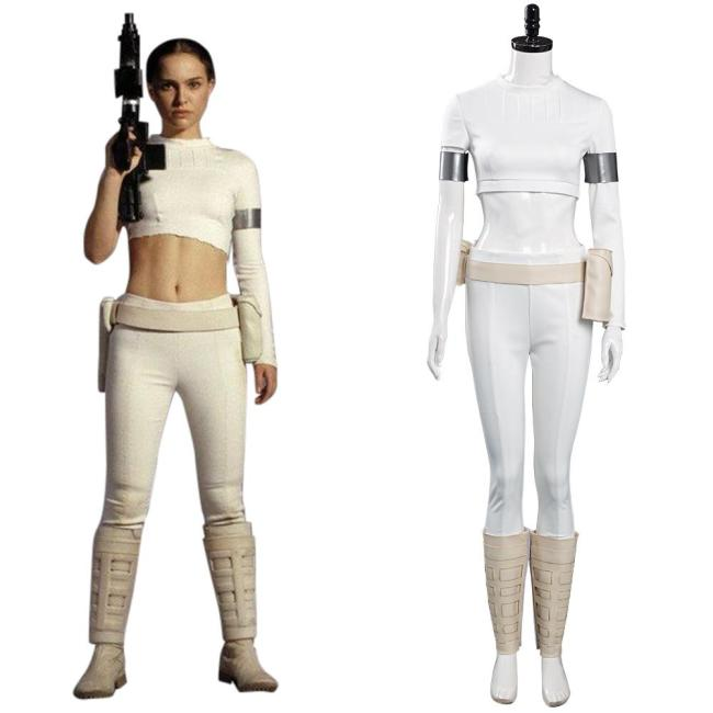 Star Wars Age Of Republic Padmé Amidala Cosplay Kostüm Halloween Karneval Outfits