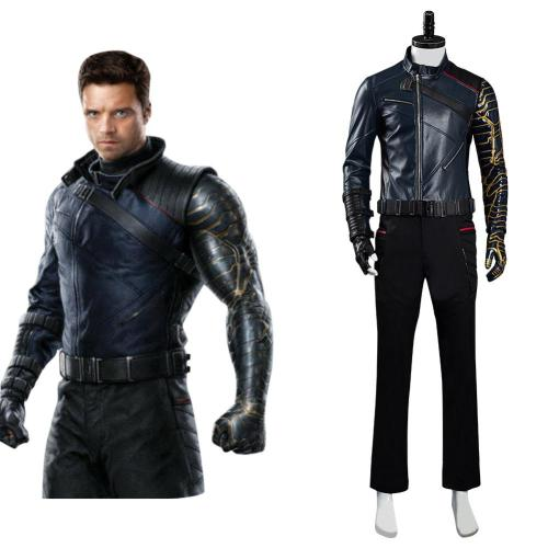 The Falcon and the Winter Soldier Bucky Barnes Cosplay Halloween Karneval Kostüm