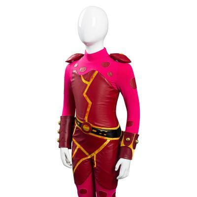Die Abenteuer von Sharkboy und Lavagirl in 3-D Lavagirl Jumpsuit Cosplay Halloween Karneval Kostüm für Mädchen