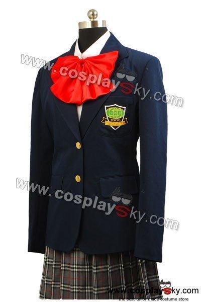 Go Go Yubari (Gogo Yubari) Kill Bill Uniform Cosplay Kostüm