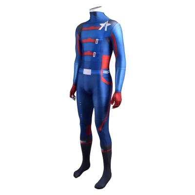 The Falcon and the Winter Soldier Agent John F. Walker Jumpsuit Cosplay Halloween Kostüme