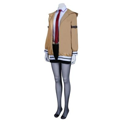 Steins;Gate Kurisu Makise Kostüm Cosplay Halloween Karneval Kostüm
