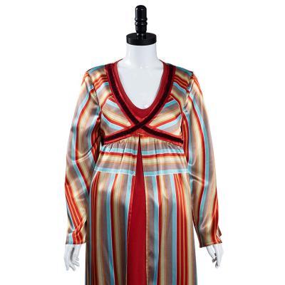 Wandavision Wanda Scarlet Witch Schwangerschafts Kleid Mama Kleid Cosplay Halloween Karneval Kostüm