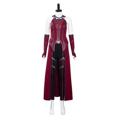 WandaVision Wanda Kämpfanzug Hexe Scarlet Witch Kostüm Cosplay Kostüm