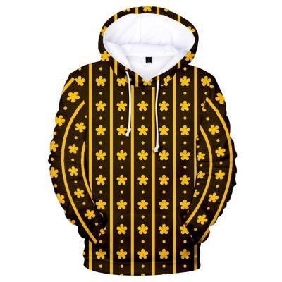 One Piece Wano Country Trafalgar Law Hoodie Pulli für Erwachsene Hooded Sweatshirt Pullover mit Kaputze