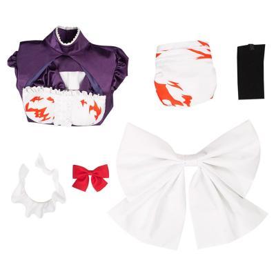 High-Rise Invasion Maid-fuku Kamen Cosplay Kostüm Dienstmädchen Kleid Halloween Karneval Outfits