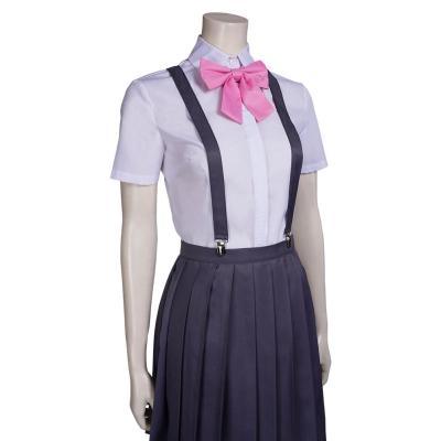 Higurashi no Naku Koro ni Rika FURUDE Cosplay Kostüme Halloween Karneval Outfits