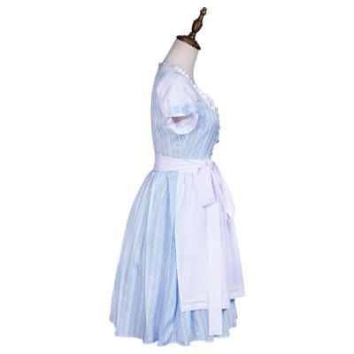 Der Zauberer von Oz Mädchen Dorothy Kleid Cosplay Kostüm