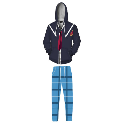 SK8 The Infinity Kojiro Nanjo/Joe Sport Outfits Jacke Hose 2 tlg für Alltag