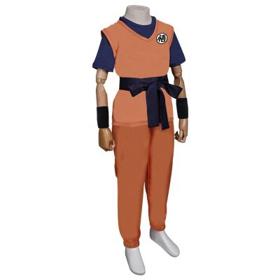 Dragon Ball Son Goku Kinder Kostüm Cosplay Halloween Karneval Outfits