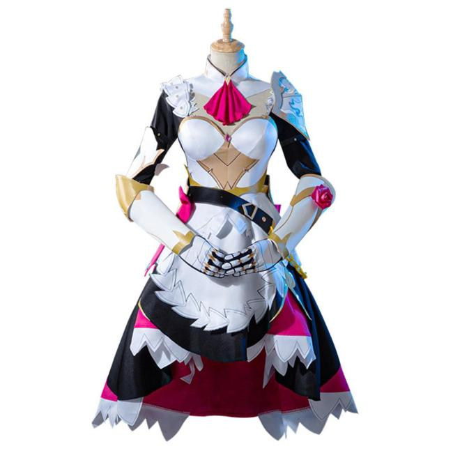 Genshin Impact Noelle Cosplay Kostüm Dienstmädchen Kleid Halloween Karneval Outfits