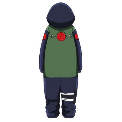 Hatake Kakashi Naruto Pajamas Druck langarm Schlafanzug für Alltag