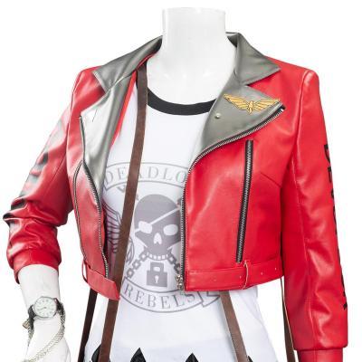 OW Overwatch Deadlock Ashe Kostüm Cosplay Halloween Karneval Outfits