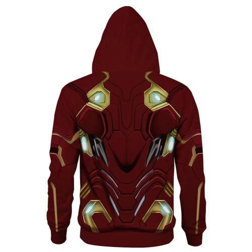 Avengers 4 : Endgame Iron Man Tory Stark Hoodie Pullover mit Kaputze Erwachsene