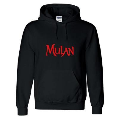 3D Druck Hooded Sweatshirt Mulan Hoodie Pullover mit Kaputze Pulli